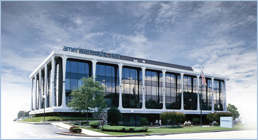 Americaneagle.com Des Plaines, Illinois Headquarters Building.